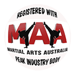 Martial Arts Australia MAA logo